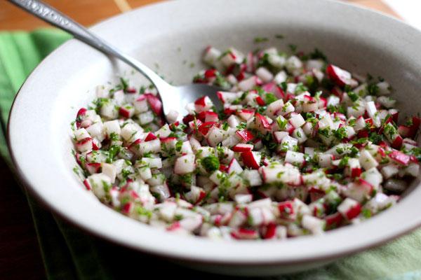 Summer radish recipe